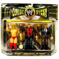 Jakks Pacific WWE Wrestling Classic Superstars Champion Series Flair, Bobby Heenan & Mr. Perfect Action Figure 3-Pack