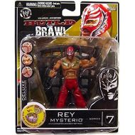 Jakks Pacific WWE Wrestling Build N Brawl Series 7 Rey Mysterio Action Figure