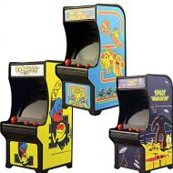 Johnson Smith Co. (Set) Classic Handheld Arcade Games - Pac-man, Ms Pac-man And Space Invaders