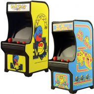 Johnson Smith Co. Classic Handheld Pacman and Ms Miniature Arcade Games w Joystick Control