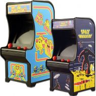 Johnson Smith Co. (Set) Miniature Classic Handheld Arcade Games Ms Pac-Man and Space Invaders