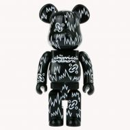 /KINKIROBOT 400% BEARBRICK THE CHEMICAL BROTHERS - 11 inches & 28 cm