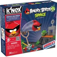 KNEX Angry Birds Space-Super Red vs. Small Minion Pig