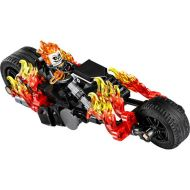 LEGO Marvel Super Heroes Ghost Rider Minifigure [with Motorcycle]