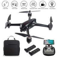 LOHOME MJX B2W Bugs 2 W RC Quadcopter - 2.4GHz 6-Axis Gyro 1080P HD 5G Wifi Camera FPV Drone Remote Control Drone, Long Range Drone With GPS, Altitude Hold, Headless mode and Retur