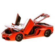 LAMBORGHINI Aventador LP700-4, dark orange, 2011, Model Car,, Motormax 1:18