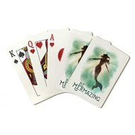 Lantern Press Be Mermazing - Mermaid Underwater (Playing Card Deck - 52 Card Poker Size with Jokers)