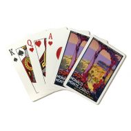 Lantern Press Monte Carlo, Monaco - Vintage Travel Advertisement (Playing Card Deck - 52 Card Poker Size with Jokers)