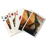 Lantern Press Pictured Rocks National Lakeshore, Michigan (Playing Card Deck - 52 Card Poker Size with Jokers)
