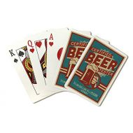 Lantern Press Vermont - Certified Beer Tester (Playing Card Deck - 52 Card Poker Size with Jokers)