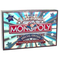 Late Parker Brothers Monopoly ~ the America ~ Special Edition