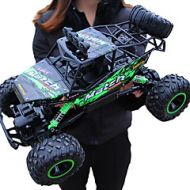 Lightinthebox RC Car Giantfoot Monster Truck Crawlers 4WD 4 Channel 2.4G Buggy (Off-road) / Rock Climbing Car / 4WD 1:12 9 km/h Water / Dirt / Shock Proof / Simulation / Parent-Child Interaction