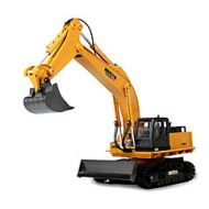 Lightinthebox RC Car HUINA 1510 11 Channel 2.4G Excavator / Construction Truck 10 km/h Remote Control / RC / Rechargeable / Electric