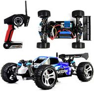 Lightinthebox RC Car WLtoys A959 2.4G Buggy (Off-road) / Off Road Car / Drift Car 1:18 Brush Electric 45 km/h Remote Control / RC / Rechargeable / Electric