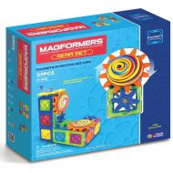 MAGFORMERS Magformers Magnets in Motion 37-Piece Magnetic Construction Gear Set