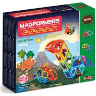 MAGFORMERS Magformers Mini Dinosaur 40-Piece Magnetic Construction Kit