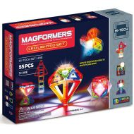 MAGFORMERS Magformers Light Show 55-Piece Magnetic Construction Set