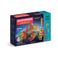 MAGFORMERS Magformers Landmark 100-Piece Magnetic Construction Set