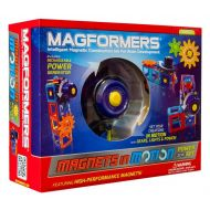 MAGFORMERS Magformers Magnets in Motion 22 Piece Magnetic Construction Set
