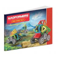 MAGFORMERS Magformers Mini Tank 27-Piece Magnetic Construction Kit