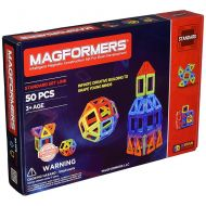 MAGFORMERS Magformers 50 Piece Magnetic Construction Set