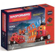 MAGFORMERS Heavy Duty 73-Piece Magnetic Construction Set