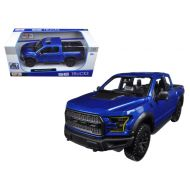 2017 Ford Raptor Pickup Truck Blue 124 Diecast Model Car by Maisto
