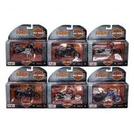 Harley Davidson Motorcycle 6pc Set Series 35 118 Diecast Models by Maisto