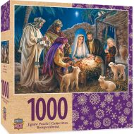 MasterPieces Holiday A Child is Born - Christ in Manger 1000 Piece Jigsaw Puzzle by Dona Gelsinger