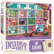 MasterPieces Inside Out Jigsaw Puzzle, Sophias Dollhouse, Featuring Art by Eduard, 1000 Pieces