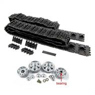 Mato Toys Mato 1:16 Metal Tracks Sprockets Metal Idler Wheels with Bearing Kit for 1:16 2.4G Heng Long Russian T-3485 RC Tank