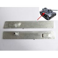 Mato Toys Mato left & right metal plate for 116 1:16 RC Panzer III IIIH tank
