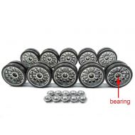 Mato Toys Mato 1:16 116 metal road wheels set with bearing for Henglong T34-85 3909-1 rc tank