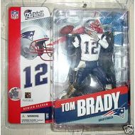 McFarlane Toys NFL Sports Picks Series 11 Action Figure Tom Brady (New England Patriots) White Jerse