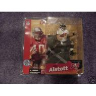 Mike Alstott #40 Tampa Bay Buccaneers White Jersey Chase Alternate Variant McFarlane NFL Series 6 Ac