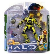 Halo 3 McFarlane Toys Series 5 (2009 Wave 2) Exclusive Action Figure PALE YELLOW Spartan Soldier EVA