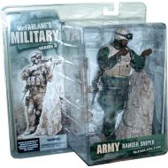 McFarlanes Toy 2006 Series 3 Military 7 Inch Tall Soldier Action Figure - ARMY RANGER SNIPER with M2