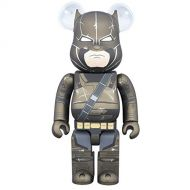 Medicom Batman v Superman: 400% Bearbrick Armored Batman Figure