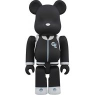 Medicom Resonate Goodenough Classics (Black Version) 100% Bear Brick Action Figure