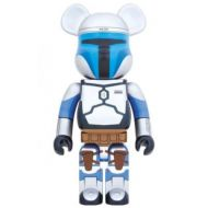 BE@RBRICK JANGO FETT 1000% Medicom Toys Bearbrick Epsoide IV Rogue One Star Wars Medicom TOYS 20th ANNIVERSARY