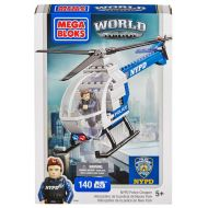 Mega Bloks American Builders Police Chopper Set #97845 [NYPD]