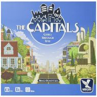 Mercury Games The Capitals Board Game