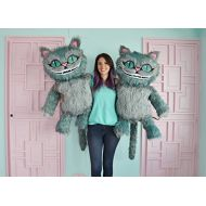 Mola Pila Cheshire cats soft toy with all the details. Really big!