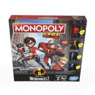 Monopoly Junior Game: DisneyPixar Incredibles 2 Edition