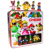 U S of A Monopoly Games Super Mario Themed Chess Set _ Collectors Edition in Colorful Tin
