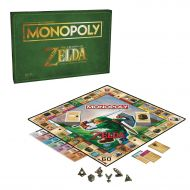 Monopoly Legend of Zelda Collectors Edition Board Game Ages 8 & Up
