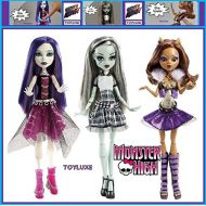 Monster high MONSTER HIGH GHOULS ALIVE! Dolls CLAWDEEN SPECTRA & FRANKIE