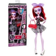 Monster High Mattel Year 2012 Dance Class Series 11 Inch Doll Set - Daughter of The Phantom of The Opera Operetta in Swing Dance Outfit with Purse