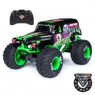 Monster Jam, Official Grave Digger RC Truck, 1:10 Scale, with Lights and Sounds, for Ages 4 and Up