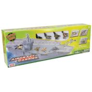 Motormax Daron Aircraft Carrier with 4 Diecast Aircrafts